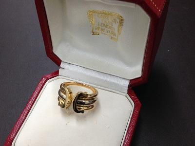 カルティエ(Cartier) 2Cリング 750 9.3g 神戸三宮 買取