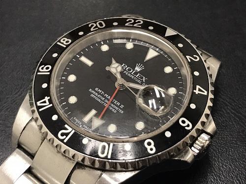 ロレックス(ROLEX)買取 GMTマスターⅡ買取 時計買取 16710買取 Y番 黒ベゼル 北区 京都北山店 左京区のマルカで買取 上京区