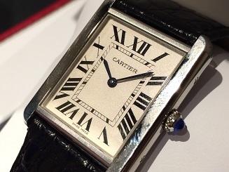 Cartier カルティエ タンクソロLM  W5200003  時計 買取 福岡 天神 博多 質屋