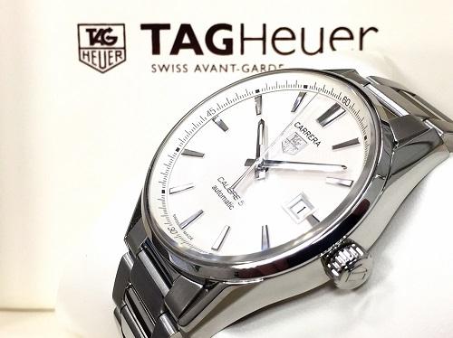 タグホイヤー 腕時計 カレラ キャリバー5 SS WAR211B 箱 保証書