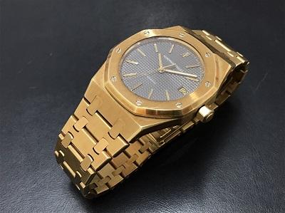 Audemars Piguet オーデマピゲ ロイヤルオーク メンズ 機械式 750 金無垢 腕時計 高価買取 七条店