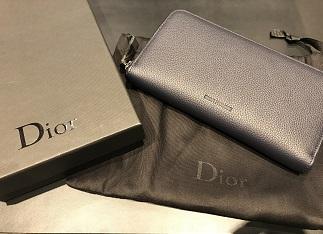 Dior Homme ディオール オム ラウンドファスナー長財布 ブランド品買取 福岡 天神 博多 質屋