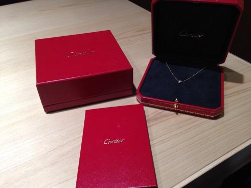カルティエ Cartier ディアマンレジェLM 750YG ダイヤモンド ネックレス