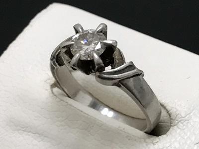 ダイヤモンド 0.46ct リング Pt900 プラチナ 宝石 高価買取 宅配買取