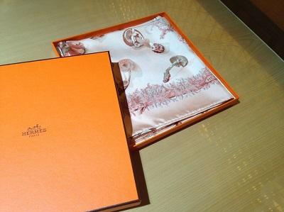 エルメス(HERMES)スカーフ シルク 高価買取り 東京 渋谷 マルカ