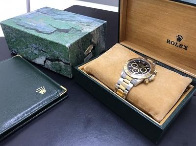 ROLEX ロレックス デイトナ Ref.16523 保証書なし ステンレス ゴールド コンビ クロノグラフ 腕時計 高価買取 七条店