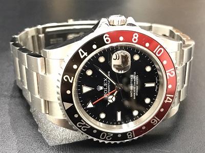 ROLEX ロレックス GMTマスター2 Ref.16710 赤・黒ベゼル 腕時計 本体のみ 高価買取 七条店