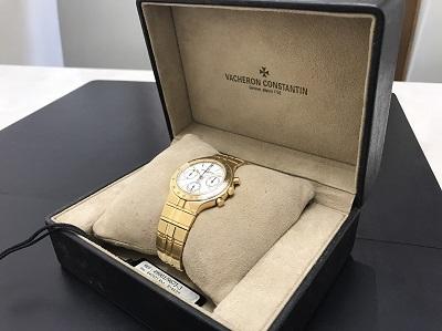 VACHERON CONSTANTIN ヴァシュロンコンスタンタン フィディアス 750YG 金無垢 腕時計 高価買取 七条店