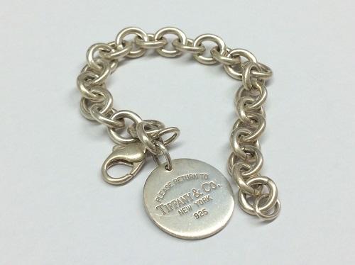 ティファニー(Tiffany&Co.) リターントゥティファニーブレスレット SV925 宅配買取