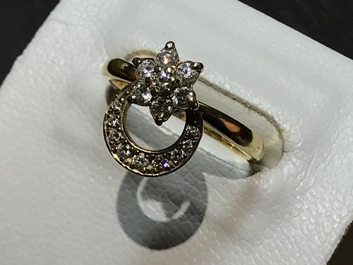 ウォルサム ジュエリー リング 指輪 K18