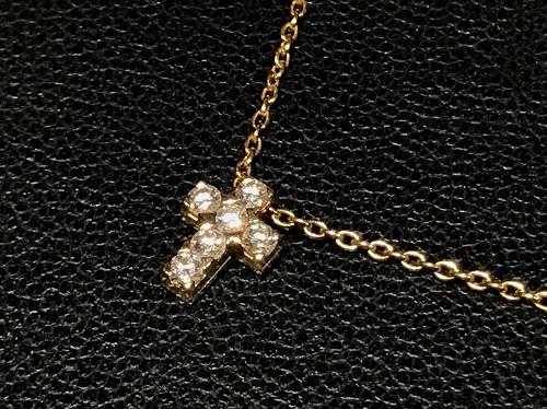 ヴァンクリ―フ&アーペル(Van Cleef & Arpels)クロアチュール 750 ダイヤ クロス ジュエリー 北山店 高価買取 マルカ