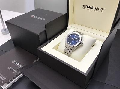 TAG HEUER タグホイヤー アクアレーサー WAY2112 腕時計 美品 高価買取 七条店