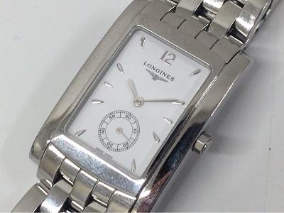 ロンジン ドルチェヴィータ L5.655.4 SS 白文字盤 時計買取 銀座買取 電池切れでも高価買取