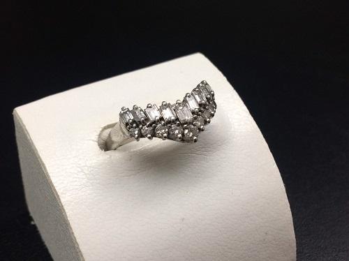 ダイヤモンドリング Pt900 1.00ct 4.8g 宝石 貴金属 北山 買取