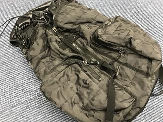 MONCLER モンクレール バックパック ナイロン カモフラージュ ブランドバッグ買取 福岡天神 博多