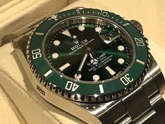 ROLEX ロレックス サブマリーナ 116610LV グリーンサブ 時計買取 福岡天神 質屋 博多