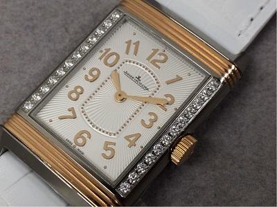 ジャガールクルト レベルソ レディウルトラスリム 268.D.86 Q322420 銀座渋谷時計買取