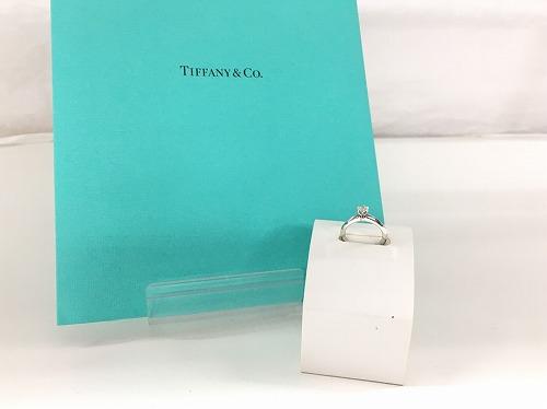 ティファニー(TIFFANY & CO) ソリティエールリング 0.23ct 4.3g 鑑定書付 宅配買取