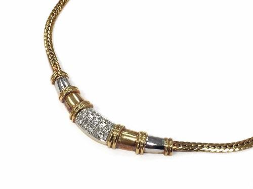 ネックレス K18 ダイヤモンド ジュエリー