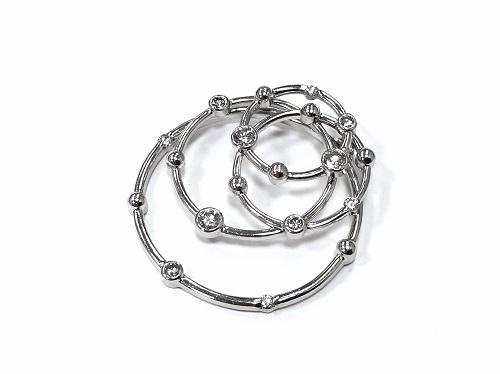 ペンダントトップ プラチナ PT900 ダイヤモンド 0.62ct