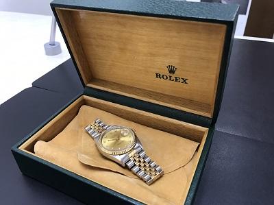 ROLEX ロレックス デイトジャスト Ref.16233G ダイヤモンドインデックス 中古 高価買取 七条店