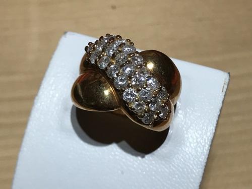 指輪 ダイヤモンド(DIAMOND) リング K18 18金 宝石