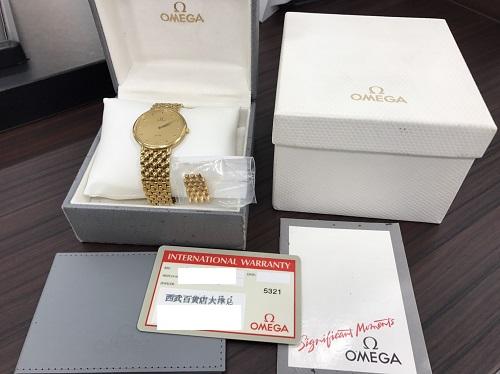 オメガ(OMEGA) デヴィル(De Ville) メンズウォッチ 750 時計買取マルカ(MARUKA)