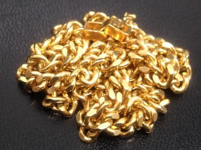 K18 750 金 20.2g ネックレス 貴金属 喜平ネックレス 銀座 高価買取