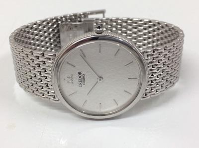 クレドール 8J80-6040 750WG K18WG 金無垢時計買取はマルカ(MARUKA)まで!