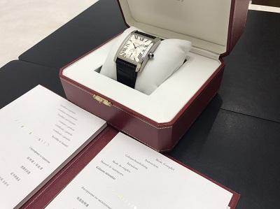 Cartier カルティエ タンクMC ステンレス W52330003 オートマチック 腕時計 高価買取 七条店