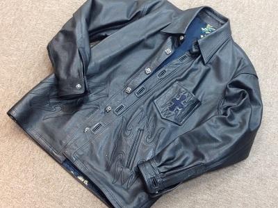 エーアンドジー(A&G)レザージャケット スティングレイ クロスインレイ A&G買取