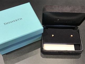 online store 1f63e 8f366 Tiffany & Co ティファニー スタッドピアス 750 ダイヤモンド ...