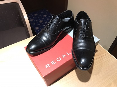 REGAL(リーガル)ビジネスシューズレザーブラック美品
