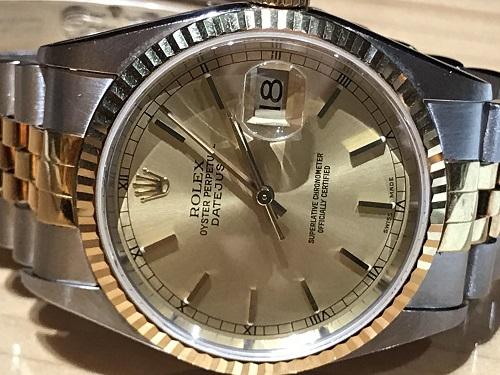 ロレックス(ROLEX) 16233 デイトジャスト 腕時計 時計 メンズウォッチ