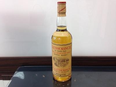 グレンモーレンジィ 10年 オールドボトル (GLENMORANGIE)お酒 買取 三宮 元町 神戸