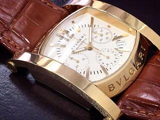BVLGARI ブルガリ アショーマクロノ AA48GCH  時計買取 質屋 福岡 天神 博多