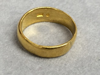 金 指輪 純金 K24 6.5g 貴金属 高い 買取 質屋 福岡 天神 博多
