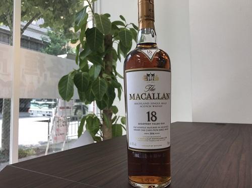 マッカラン(Macallan) 18年 ウイスキー買取マルカ(MARUKA)