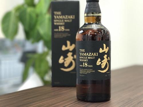 山崎(YAMAZAKI)18年 ウイスキー買取マルカ(MARUKA)