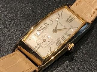 HAMILTON ハミルトン レディースウォッチ クォーツ 電池切れ 時計買取