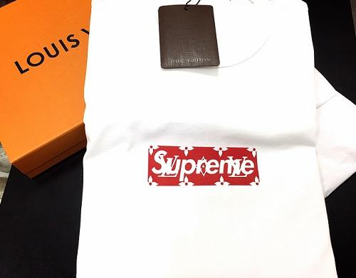 ルイヴィトン LOUIS VUITTON × シュプリーム Supreme コラボ限定Tシャツ 新品未使用品