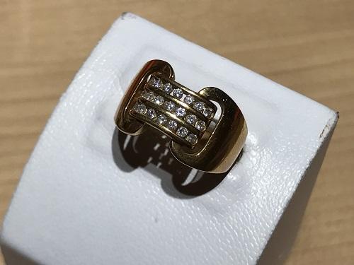 ダイヤモンド(DIAMOND) リング 指輪 K18 宝石 ジュエリー 18金 貴金属