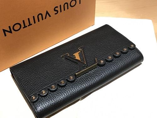ルイヴィトン(LOUIS VUITTON) ポルトフォイユ・カプシーヌ M64102 財布 二つ折り ブランド