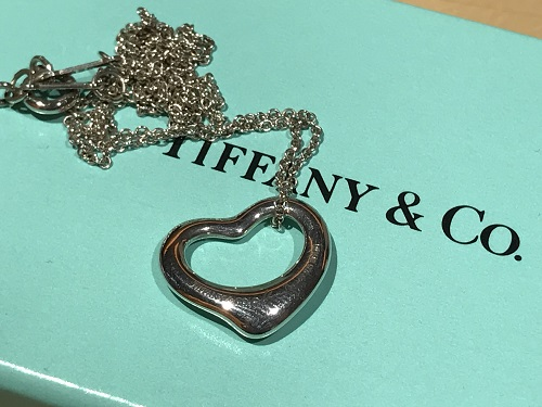 ティファニー(Tiffany) オープンハートネックレス シルバー アクセサリー ブランドジュエリー