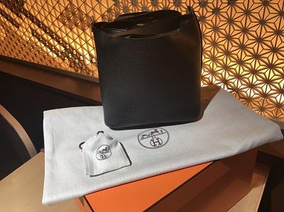 HERMES(エルメス)ピコタンロック トリヨン ブラック 新品 高価 買取りマルカ