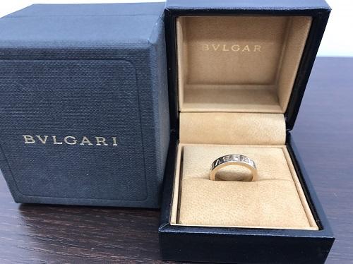 ブルガリ(BVLGARI) ブルガリブルガリ ダブルロゴリング 1PD 750WG 6.0g 出張買取