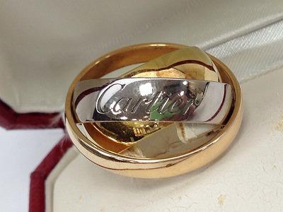 カルティエ(Cartier) トリニティリング 750 7.5g 北山 買取