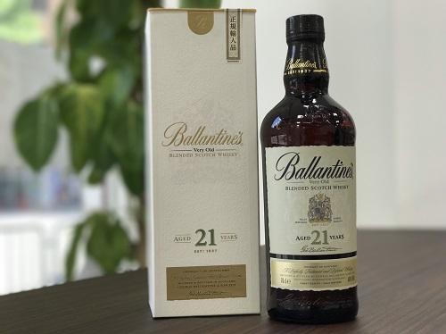 バランタイン(Ballantine's) 21年 ウイスキー買取マルカ(MARUKA)