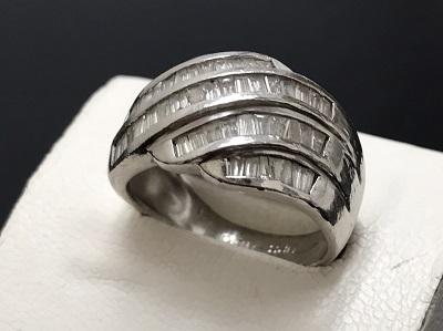 メレダイヤモンド 1.50ct リング Pt900 プラチナ 宝石 高価買取 出張買取