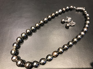 真珠 ネックレス イヤリング プラチナ 金 宝石買取 宅配買取